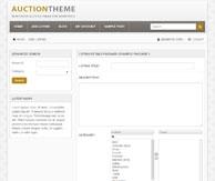 Auction thème Premiumpress
