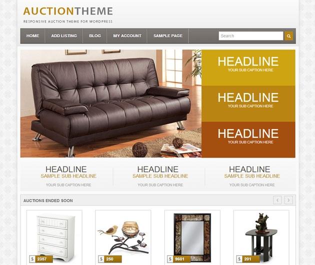 Auction theme