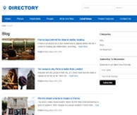Directory Templatic Annuaire