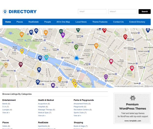 Directory Templatic