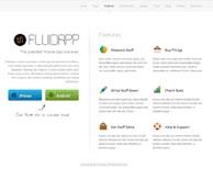 Fluid App Thème WP