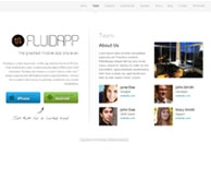 FluidApp Thème Application