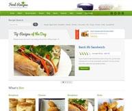Food Recipes blog