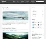 Ifolio-theme-application
