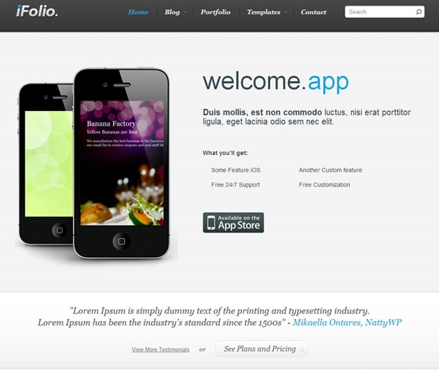 Ifolio-theme-apps