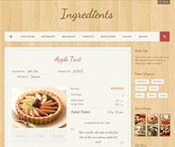Ingredients Thème cuisine