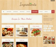 Ingredients blog culinaire