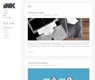 Ink Thème portfolio