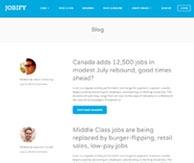 Jobify Thème emploi CV