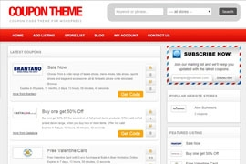 Responsive Coupon Theme