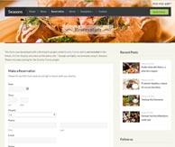 Seasons réservation restaurant