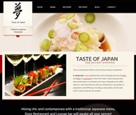Taste of japan Thème restaurant
