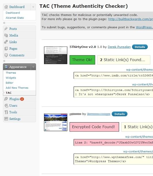 Theme-Authenticity-Checker-Wordpress