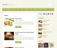 Thème blog cuisine Petit