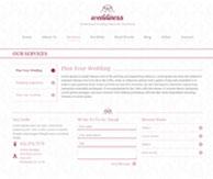 Wedding planner thème