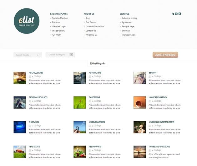 eList thème