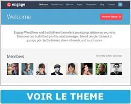 Theme rencontre wordpress