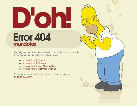 erreur-404-Simpson-Homer