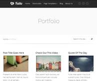 Fable thème portfolio