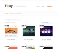 Foxy page catégorie