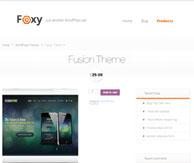 Thème Foxy page produit