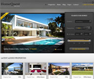 HomeQuest thème immobilier