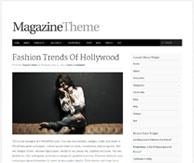 Page article Thème magazine