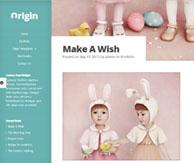 Origin page blog