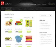 Styleshop page catégorie