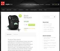 Styleshop page produit