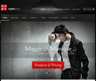 Styleshop template