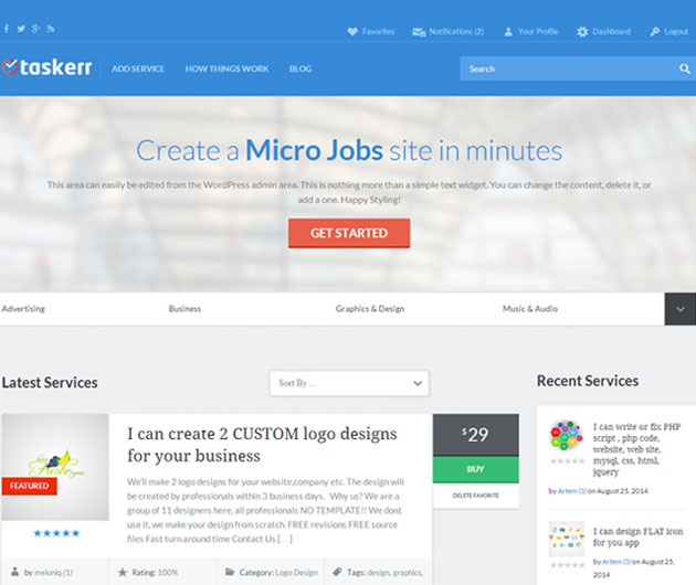 taskerr   jobs wordpress