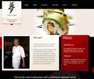 Taste of Japan Présentation chef