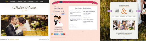 templates-site-mariage-wordpress