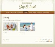 The Wedding thème portfolio mariage