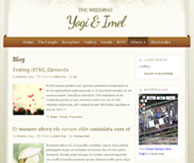 The Wedding template WordPress