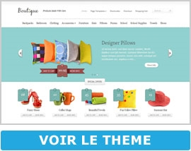 Boutique d'Elegant Themes