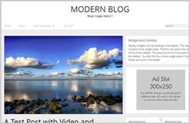 Thèmes blog WordPress