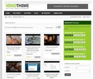 Thème vidéo WordPress