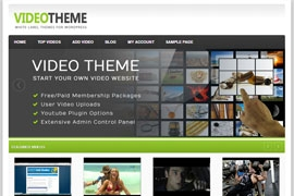 Video Sharing Theme