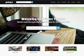 wordpress-pricerr-theme